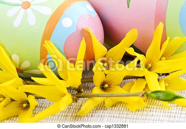卵, イースター - csp1332881