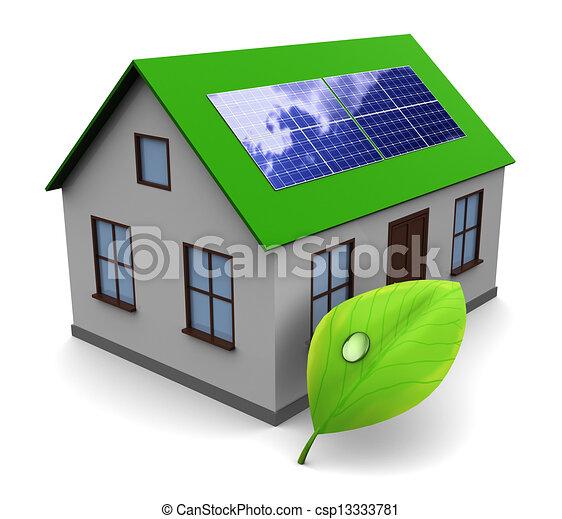 solar energy - csp13333781