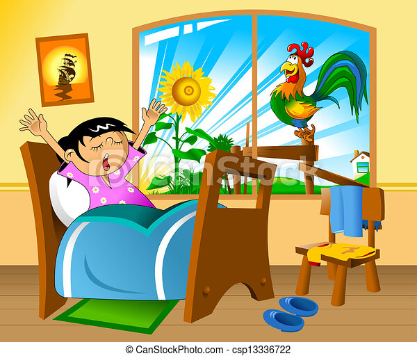 Clip Art of early morn...