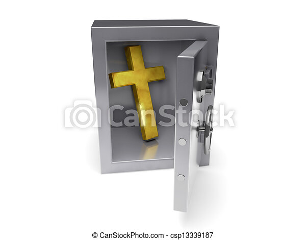Safe Religion - csp13339187