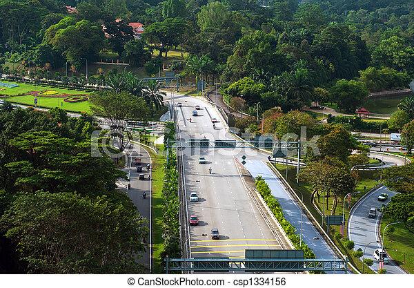 Road Network Design Kuala Lumpur Road Network