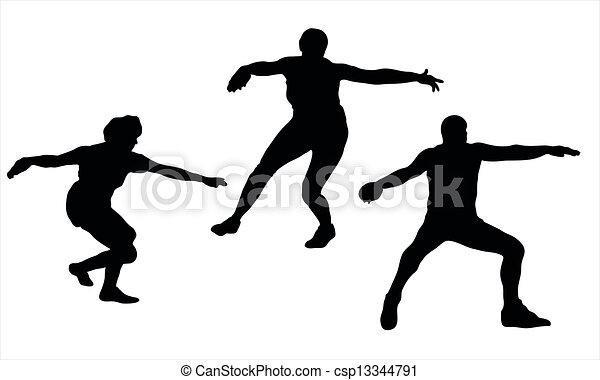 discus throw - csp13344791