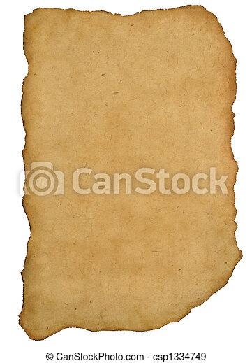 ancient manuscript - csp1334749