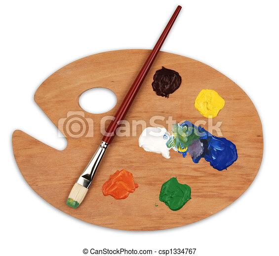art palette - csp1334767