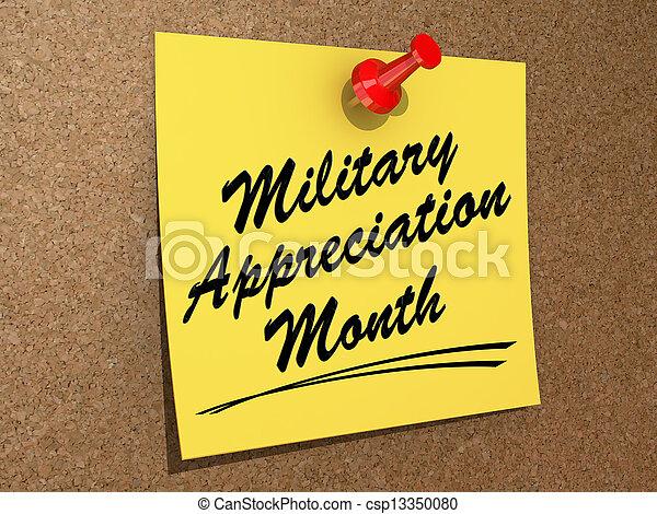 Military Appreciation Month - csp13350080