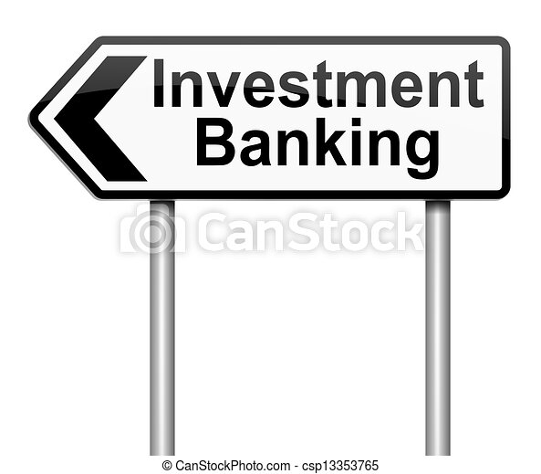 Investment banking concept. - csp13353765