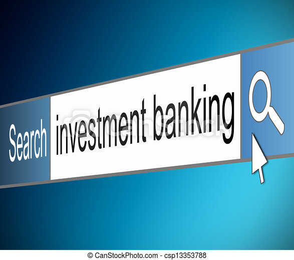 Investment banking concept. - csp13353788
