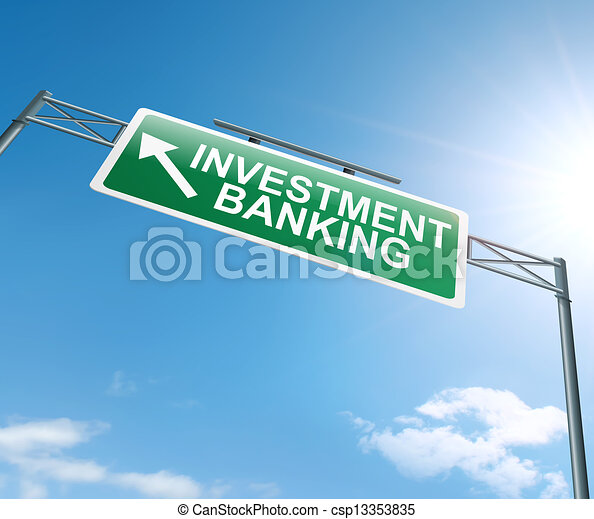 Investment banking concept. - csp13353835