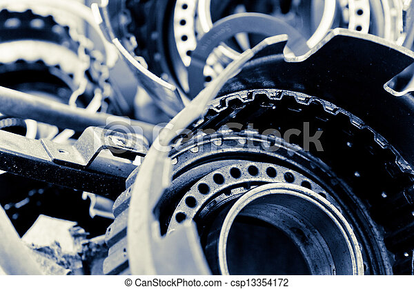 automobile gear assembly - csp13354172
