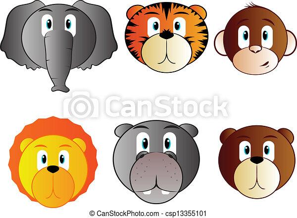 Dibujo de safari bebé - Imagui