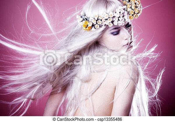 fantasy blond - csp13355486
