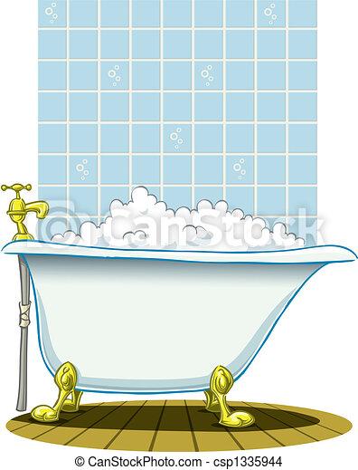 Old Victoria bath - csp1335944