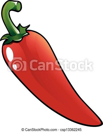 Vecteur eps de poivre piment chaud rouges rouges - Dessin piment ...