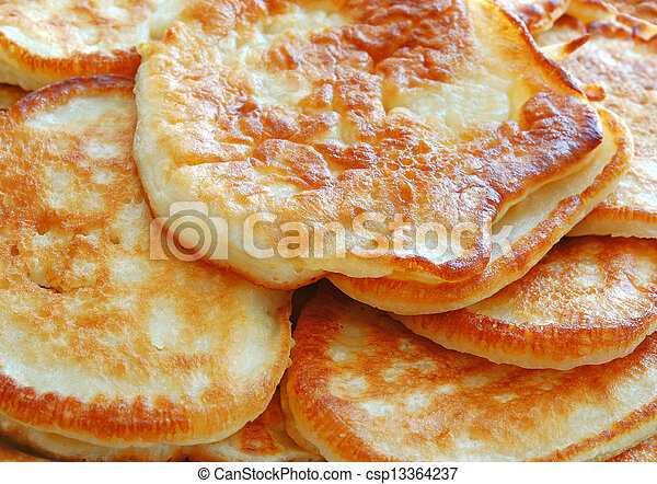 Stock photos of russian food pile of homemade pancakes for Art of russian cuisine