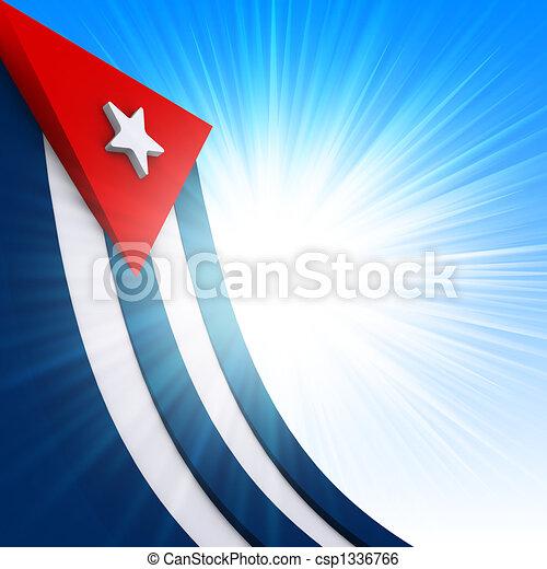 Cuban Flag - csp1336766