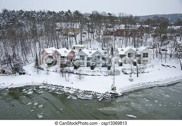 Finland - Nature in winter - csp13369813