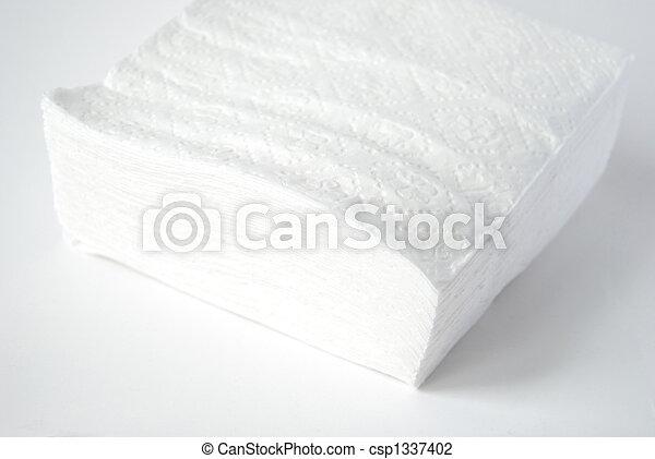 Paper napkins,  - csp1337402