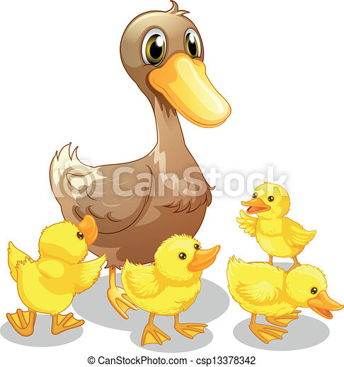 Ducklings Illustrations and Clipart. 2,304 Ducklings royalty free ...