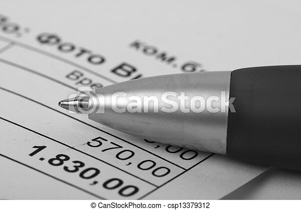 Accounting - csp13379312