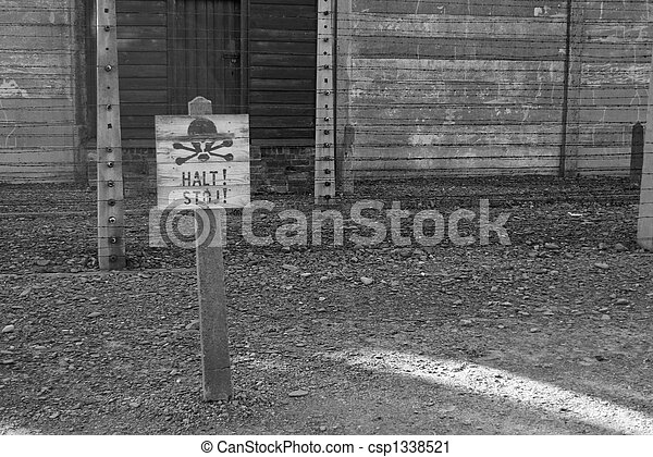 concentration camp in Poland - csp1338521