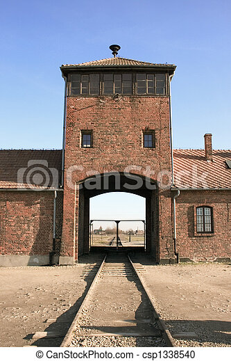 concentration camp in Poland - csp1338540
