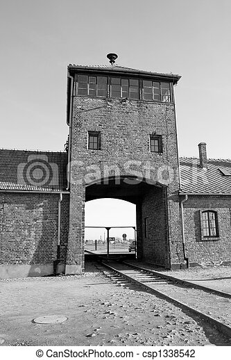 concentration camp in Poland - csp1338542