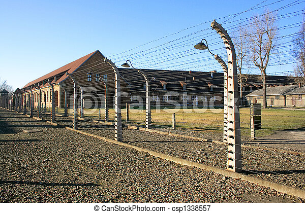 concentration camp in Poland - csp1338557