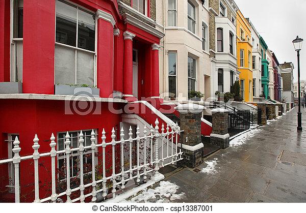 Residential street - csp13387001