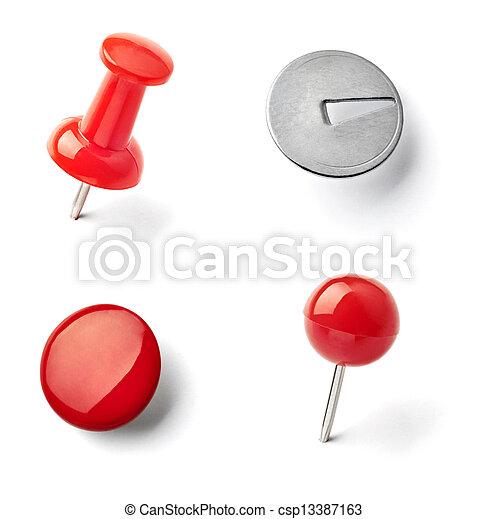 image de pouss e pingle punaise papier agrafe bureau business csp13387163 recherchez. Black Bedroom Furniture Sets. Home Design Ideas