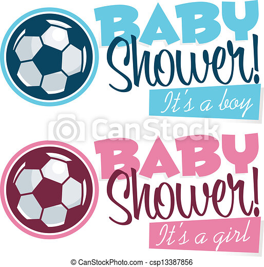 Soccer Baby Shower Banners ...