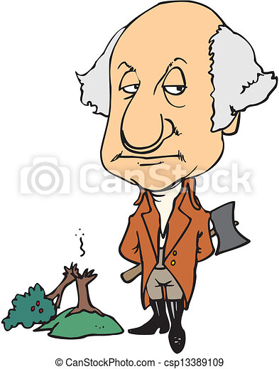 Vector Clipart of George Washington csp13389109 - Search Clip Art ...