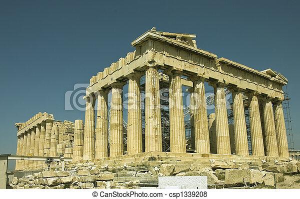Grèce,  monument - csp1339208