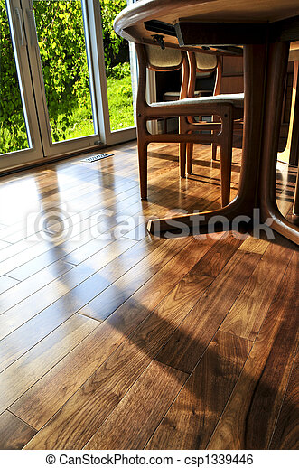 Hardwood floor - csp1339446