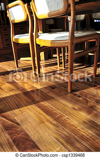Hardwood floor - csp1339468
