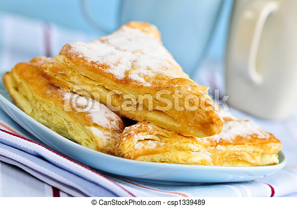Apple turnovers pastries - csp1339489
