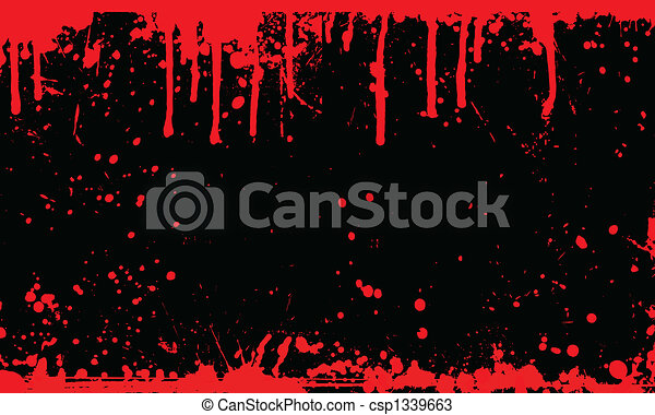 Blood splat background - csp1339663