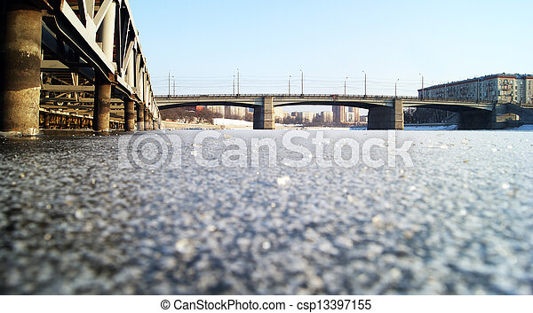 Icy Bridges - csp13397155