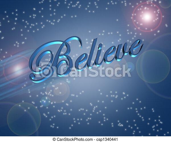 Believe - csp1340441