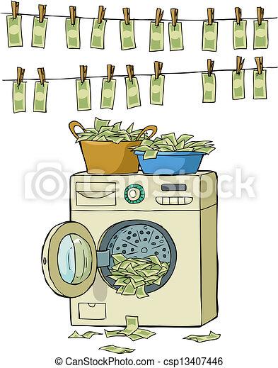 wie geld waschen