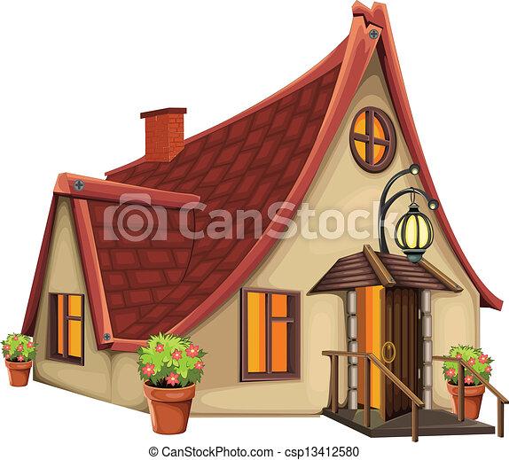 Fantasy Houses Drawing Fantasy House Csp13412580