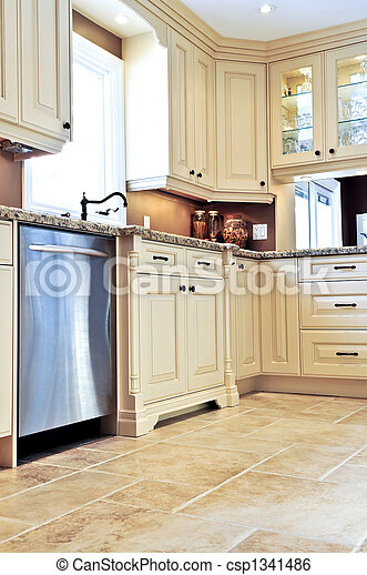 Image de carreau moderne cuisine plancher moderne for Carreau ceramique cuisine