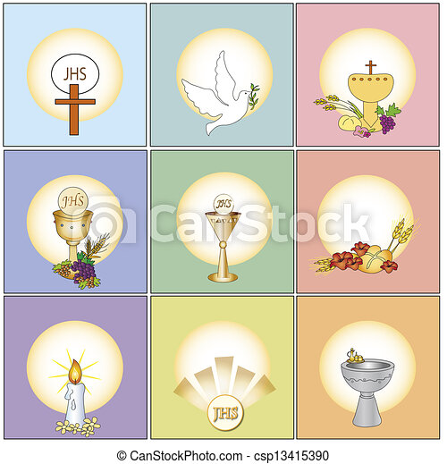 religion icons - csp13415390
