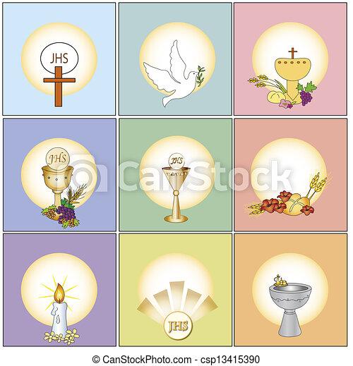 religion icons - csp13415390