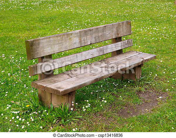 Park bench - csp13416836
