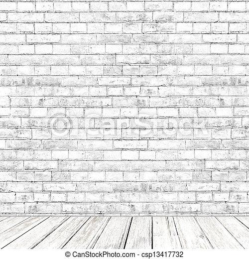 Banco de imagem branca tijolo parede sala madeira for Sala de estar 3x5