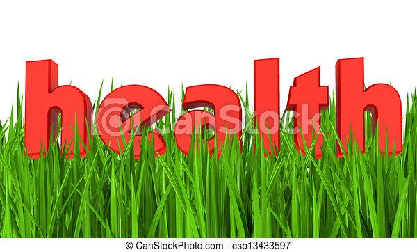 Health symbol - csp13433597
