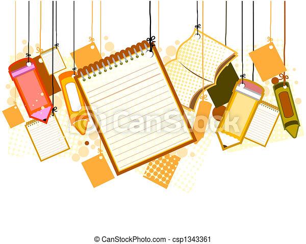 School Supplies - csp1343361