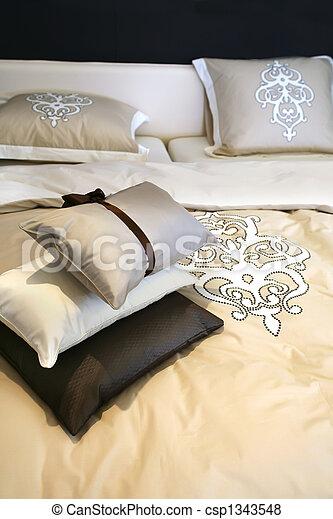 bed textile - csp1343548
