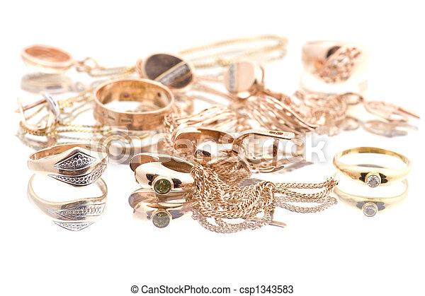 Golden valuable - csp1343583