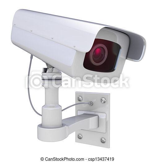 Security camera - csp13437419